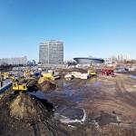 Fot. 1. Budowa najdłuższego odcinka S28-S24 w okolicy Spodka