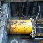 Fot. 3. Praca głowicy przy budowie odcinka S8-S7 znajdującego się pod DTS